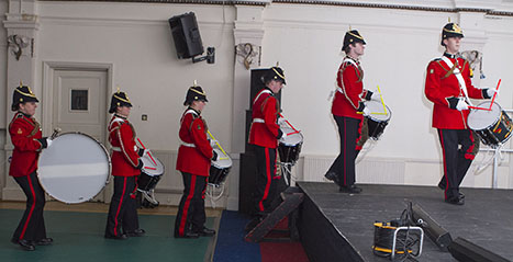 Cadet display Gala dinner 2012 d ©P. Oliver