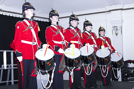 Cadet display Gala dinner 2012 g ©P. Oliver
