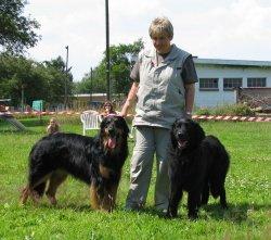 Lara, Sacha and Biko
